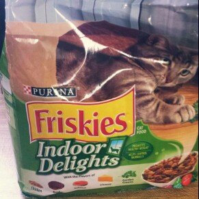 Purina Friskies Cat Food Indoor Delights uploaded by Amy M.