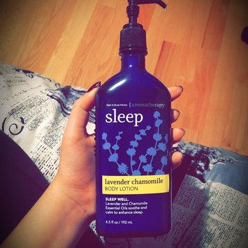 Photo of Bath Body Works Aromatherapy Sleep Lavender Chamomile 6.5 oz Body Lotion uploaded by Catalina V.
