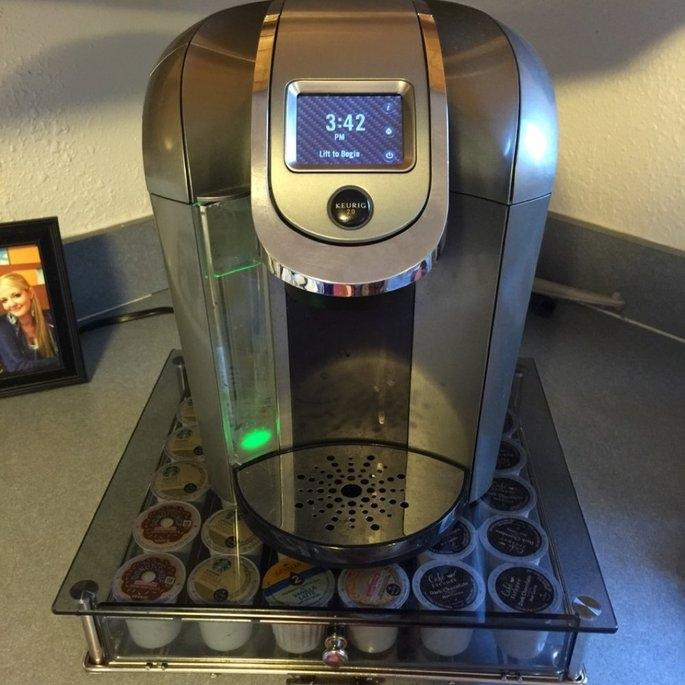 Keurig - 2.0 K550 4-cup Coffeemaker - Black/dark Gray uploaded by Jody W.