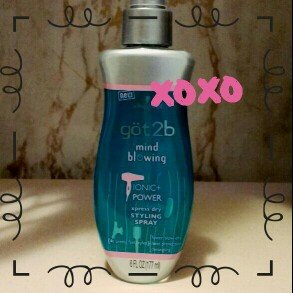 Photo of göt2b® Mind Blowing Xpress Dry Styling Spray uploaded by sarah r.