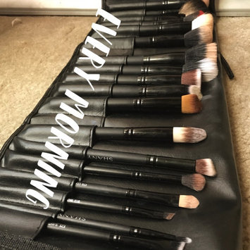 Photo of SHANY Studio Quality Natural Cosmetic Brush Set with Leather Pouch uploaded by Marbeth R.