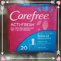 Carefree® Acti-Fresh® Extra Long Liners uploaded by M M.