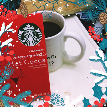 Photo of Starbucks Peppermint Hot Cocoa Mix uploaded by Gwen M.