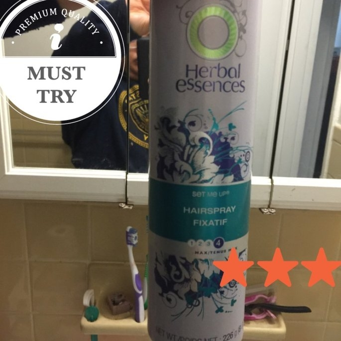 Herbal Essences Set Me Up Hairspray uploaded by Amanda R.