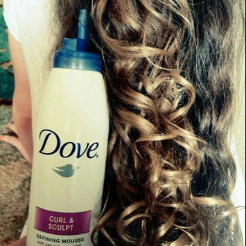 Photo of Dove Damage Therapy Curl and Sculpt Defining Mousse, 7 oz uploaded by M P.