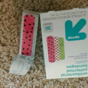 up & up up&up Antibacterial Fancy Patterned Bandages - 30 Count uploaded by sophie c.