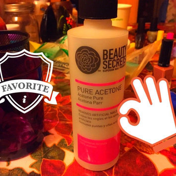 Photo of Beauty Secrets Nourishing Acetone Nail Polish Remover 16 oz. uploaded by Jen J.