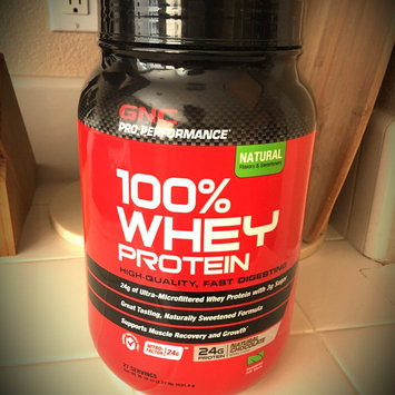 Photo of Gnc GNC Pro Performance(r) 100% Whey Protein - Natural Chocolate uploaded by Valentina P.