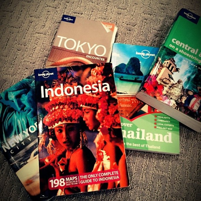 Lonely Planet Travel Guides uploaded by Devon W.