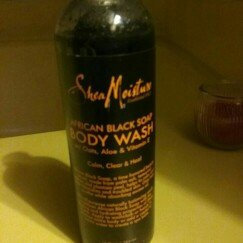 SheaMoisture African Black Soap Body Wash uploaded by heather m.