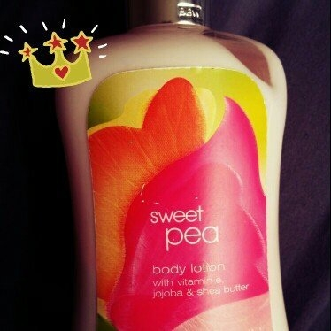 Bath Body Works Bath & Body Works Sweet Pea Body Lotion Signature Collection 8 oz uploaded by Ke'Asia S.