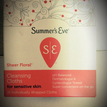 Summer's Eve Cleansing Cloths for Sensitive Skin uploaded by Talissa G.