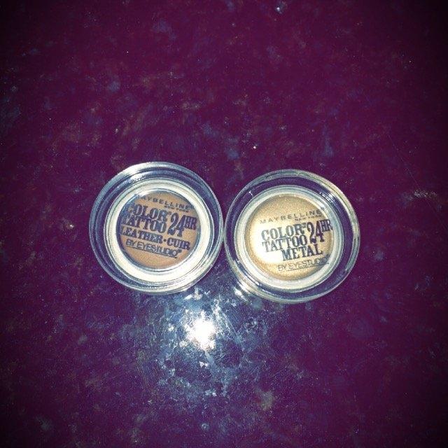 Maybelline Eye Studio Color Tattoo Leather 24HR Cream Gel Eyeshadow uploaded by Ann R.