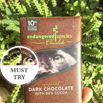 Photo of Endangered Species Chocolate Natural Dark Chocolate 72% Cocoa uploaded by Gladis R.