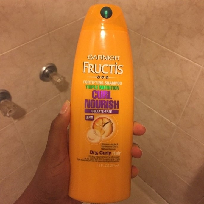 Garnier Fructis Triple Nutrition Curl Nourish Shampoo uploaded by Darlene S.