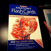 Barron's Anatomy Flash Cards, 2nd Edition uploaded by Samantha A.