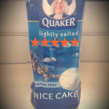 Quaker Lightly Salted Rice Cake uploaded by Rebecca C.
