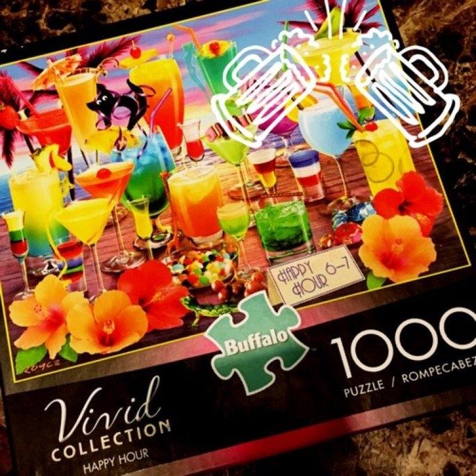 Buffalo Games, Inc. Buffalo Vivid Collection Happy Hour Jigsaw Puzzle - 1000-Piece uploaded by Jon M.
