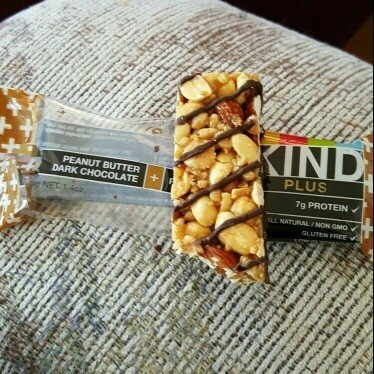 Kind Peanut Butter Dark Chocolate + Protein uploaded by Ashley C.