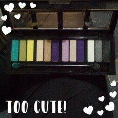 Photo of CITY COLOR Barely Exposed Eye Shadow Palette Day/Night uploaded by Analleli L.