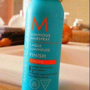 Photo of Moroccanoil® Luminous Hairspray Medium uploaded by Julia M.