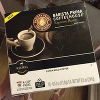 Barista Prima Coffee House Keurig Brewed Medium-Dark Roast House Blend K-Cups - 12 CT uploaded by Felecia F.