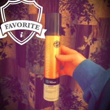 Photo of Pantene Pro-V Fine Hair Style Volume Triple Action Hair Mousse, 6.6 oz uploaded by Emily A.