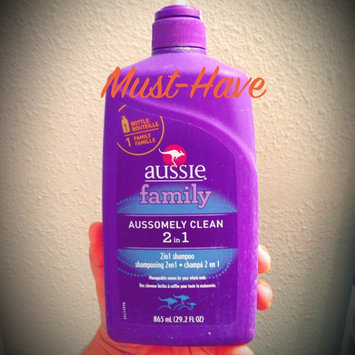 Aussie Aussomely Clean 2-In-1 Shampoo + Conditioner uploaded by Naomi S.