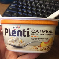 Yoplait® Plenti™ Peach Oatmeal With Greek Yogurt uploaded by Carli L.