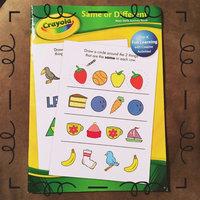 Crayola Rhyme Time Basic Skills Activity Book uploaded by Hannah H.