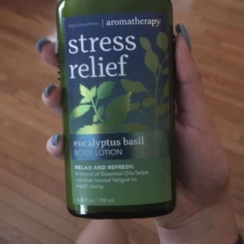 Bath & Body Works Aromatherapy- Stress Relief Hand Cream image uploaded by Amy R.