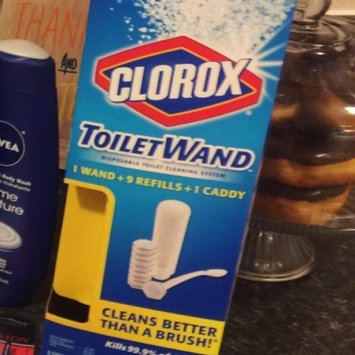 Clorox Toilet Wand Disposable Toilet Cleaning System uploaded by Jessica E.