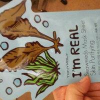 TONYMOLY I'm Real Mask Sheet - Seaweed uploaded by Tasha M.