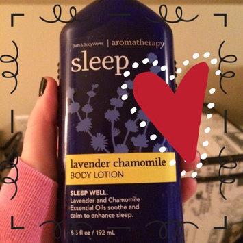 Photo of Bath Body Works Aromatherapy Sleep Lavender Chamomile 6.5 oz Body Lotion uploaded by Tiffany B.