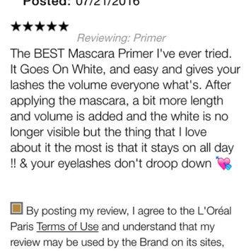 Photo of L'Oréal Paris Voluminous® Primer & Mascara Carded Pack uploaded by Bertha S.