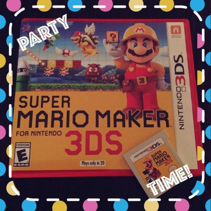 Super Mario Maker Nintendo 3DS uploaded by Sarah W.