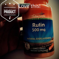Rutin 500mg 60 Tabs from Thompson Nutritional Products uploaded by Claudia P.