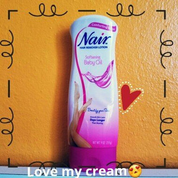 Photo of Nair Baby Oil 3-Minute Hair Remover Lotion uploaded by Karla M.
