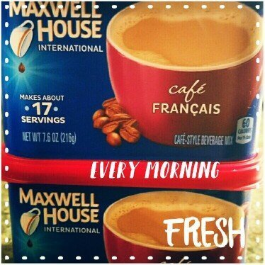 Maxwell House International Cafe Cafe-Style Beverage Mix, Suisse Mocha Cafe uploaded by Maria S.
