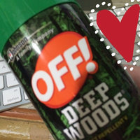 OFF! Deep Woods Insect Repellent uploaded by laura m.