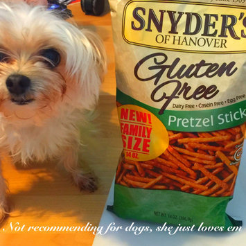 Photo of Snyder's Of Hanover Gluten-Free Sticks uploaded by Jen L.
