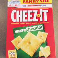 Sunshine Cheez-It Baked Snack Crackers White Cheddar uploaded by Mara H.