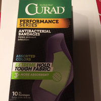 Curad Performance Series Antibacterial Bandages, Assorted Colors, XL, 2 x 4 inch (5.08 x 10.16cm), 10 ea uploaded by Pat S.