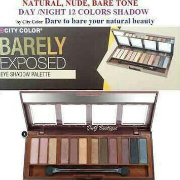 Photo of CITY COLOR Barely Exposed Eye Shadow Palette Day/Night uploaded by Jennifer V.