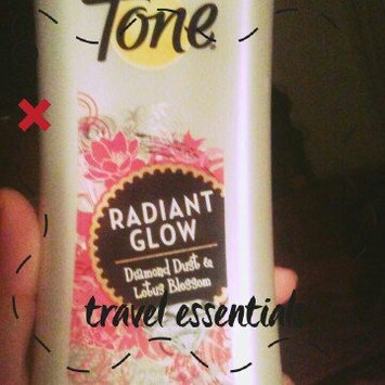 Photo of Tone® Radiant Glow Diamond Dust & Lotus Blossom Illuminating Body Wash 16 fl. oz. Bottle uploaded by Annette R.