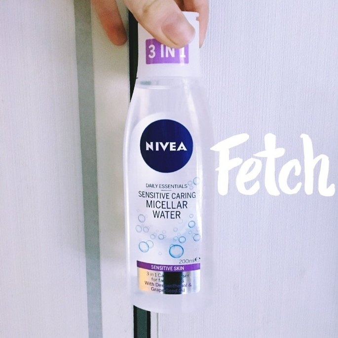 Nivea 3-in-1 Micellar Cleansing Water, Sensitive Skin, 200 mL uploaded by Amber B.