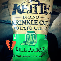 Kettle Brand® Krinkle Cut™ Dill Pickle Potato Chips 8.5 oz. Bag uploaded by Alanna S.
