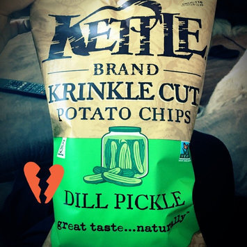 Kettle Brand® Krinkle Cut™ Dill Pickle Potato Chips uploaded by Alanna S.
