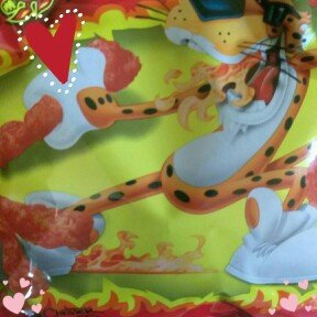 CHEETOS® Crunchy Flamin' Hot® Cheese Flavored Snacks uploaded by Victoria G.
