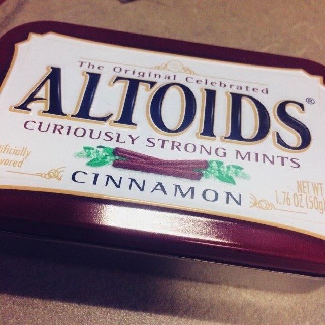 Altoids Cinnamon Mints uploaded by Brett D.